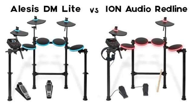 Alesis DM Lite vs ION Audio Redline Drums