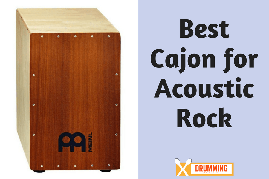 Best Cajon for Acoustic Rock