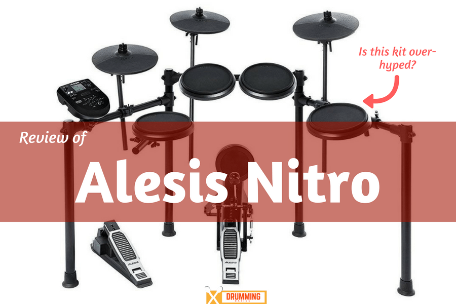 Alesis Nitro Kit Review: Is this affordable e-drum over hyped?