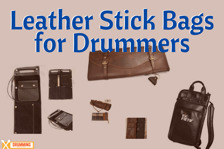 Leather Stick Bags for Drummers
