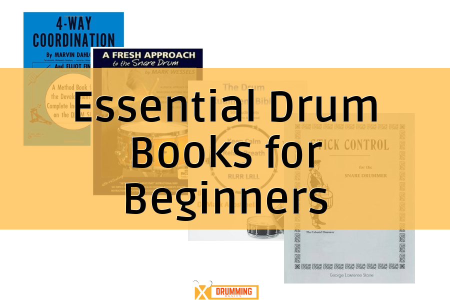 5 Essential Drum Books for Beginners