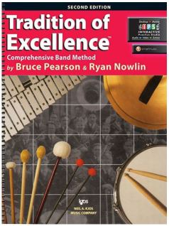Tradition of Excellence on Percussion (Book)