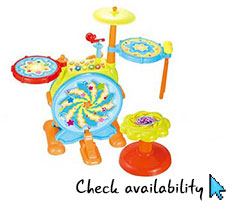 junior drum kit for toddlers