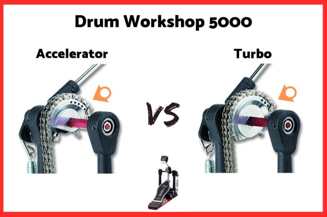 DW 5000 Accelerator vs Turbo