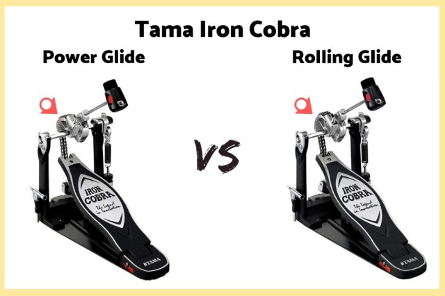 Tama Iron Cobra Power Glide vs Rolling Glide