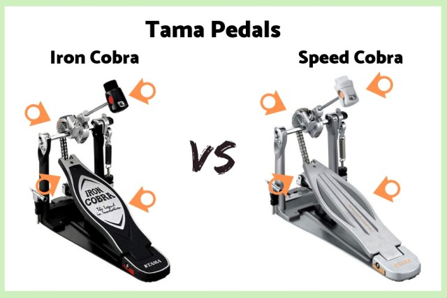 Tama Iron Cobra vs Speed Cobra