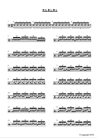 Linear Drum Beats & Licks