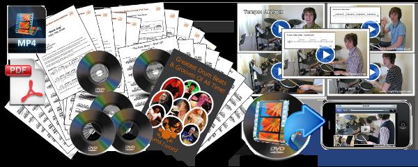 DrumMasters Video Song Pack