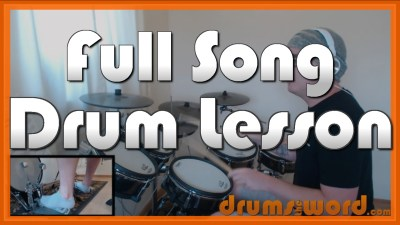 """""""Ace Of Spades"""" - (Motorhead) Full-Song Video Drum Lesson Notation Chart Transcription Sheet Music Drum Lesson"""