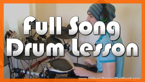 """Basket Case"" - (Green Day) Full-Song Video Drum Lesson Notation Chart Transcription Sheet Music Drum Lesson"