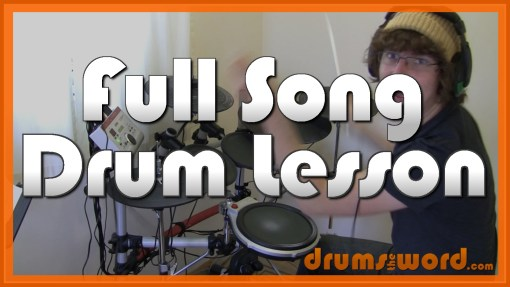 """Diamond Eyes"" - (Deftones) Full-Song Video Drum Lesson Notation Chart Transcription Sheet Music Drum Lesson"