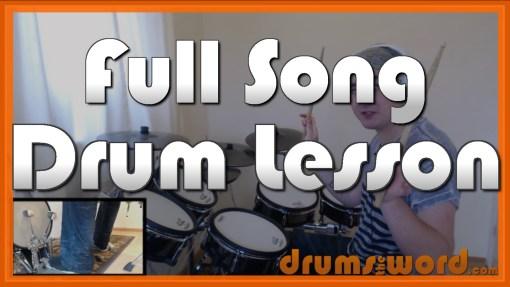 """Killer Queen"" - (Queen) Full-Song Video Drum Lesson Notation Chart Transcription Sheet Music Drum Lesson"
