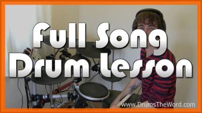 """Learn To Fly"" - (Foo Fighters) Full-Song Video Drum Lesson Notation Chart Transcription Sheet Music Drum Lesson"