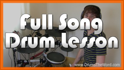 """""""Rope"""" - (Foo Fighters) Full-Song Video Drum Lesson Notation Chart Transcription Sheet Music Drum Lesson"""