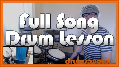 """Tourettes"" - (Nirvana) Full-Song Video Drum Lesson Notation Chart Transcription Sheet Music Drum Lesson"