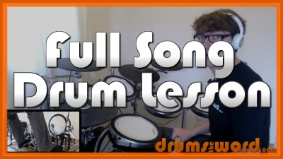 """""""Would?"""" - (Alice In Chains) Full-Song Video Drum Lesson Notation Chart Transcription Sheet Music Drum Lesson"""