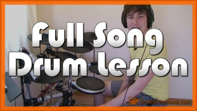 """You Really Got Me"" - (The Kinks) Full-Song Video Drum Lesson Notation Chart Transcription Sheet Music Drum Lesson"