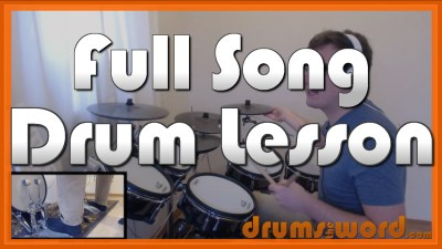 """Sad But True"" - (Metallica) Full-Song Video Drum Lesson Notation Chart Transcription Sheet Music Drum Lesson"