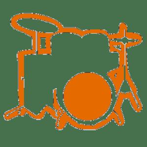 DrumsTheWord Logo - DrumsTheWord.com