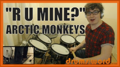 """R U Mine?"" - (Arctic Monkeys) Full-Song Video Drum Lesson Notation Chart Transcription Sheet Music Drum Lesson"