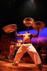 Emmanuel Bowl Spinning Drum Struck