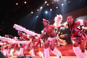 Zulu Dance Piece Drum Struck