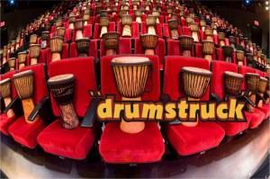 Main Audience Drums Seats on Drums Drum Struck