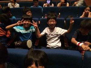 Japan Audience Members Drum Struck