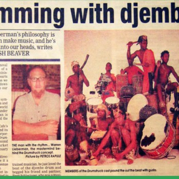 Jamming with Djembes