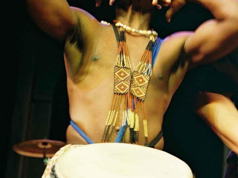 Enoch drumming