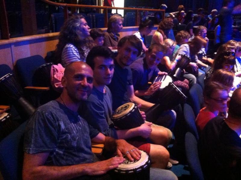 Audience Drumming