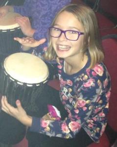 Australia Audience Member Drum Struck