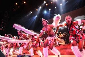 Zulu Dancing Drum Struck