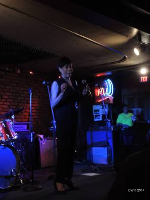 Toward the end of the show, Bettye LaVette sings a capella