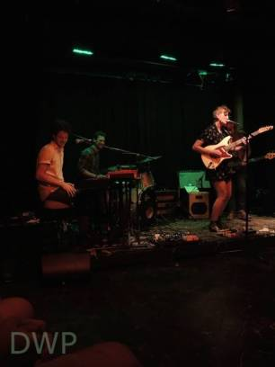Mia Dyson and her band