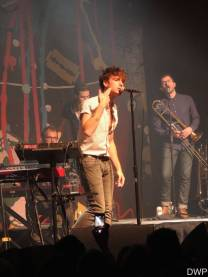 Paolo Nutini and band