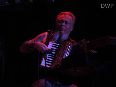 Rick Steff on the accordion
