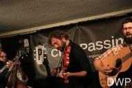Eric Brubaker on fiddle