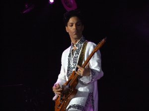 Prince at Coachella.