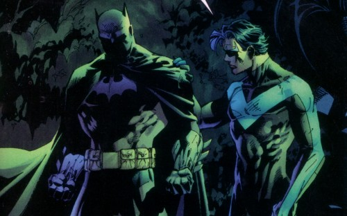 batman and nightwing 500x312 batman and nightwing