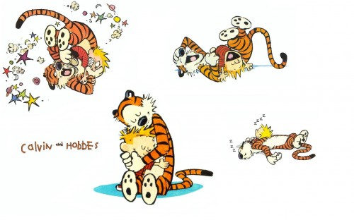 calvin and hobbes wallpaper 500x312 calvin and hobbes wallpaper