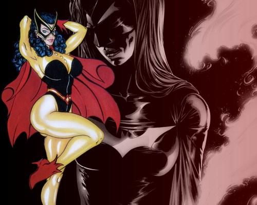 batwoman classic and new 500x400 batwoman  classic and new