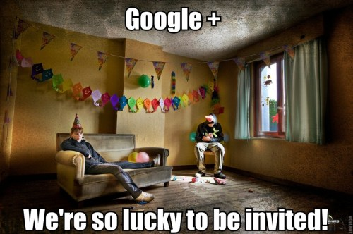 google plus we are so lucky 500x332 google plus   we are so lucky