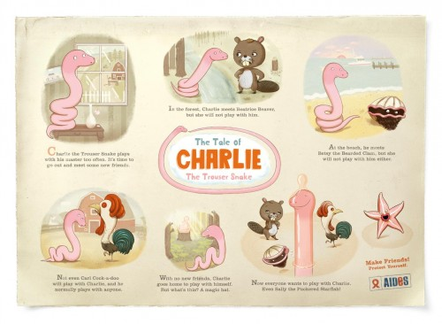 the tale of charlie the trouser snake 500x366 the tale of charlie the trouser snake