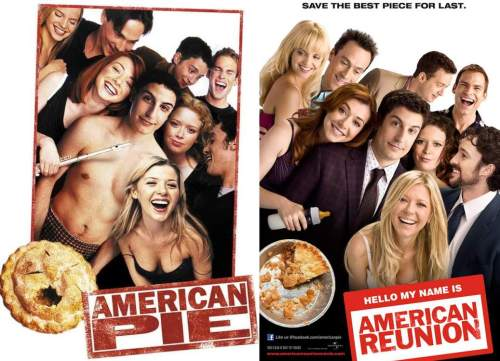 then and now american pie