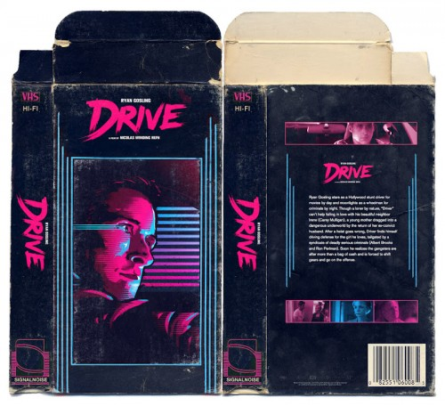 Drive VHS cover 500x456 Drive VHS cover
