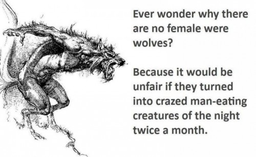 no female werewolves 500x308 no female werewolves