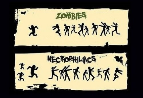 zombies vs necrophiliacs 500x343 zombies vs necrophiliacs