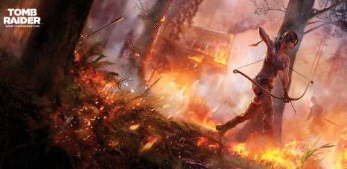 tomb raider wallpaper 500x244 tomb raider wallpaper