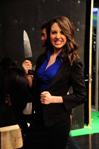 Alison Brie on Attack of the Show 2011 332x500 Alison Brie on Attack of the Show 2011